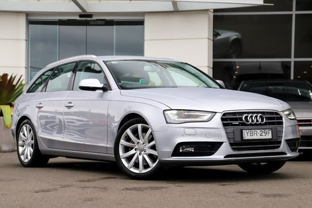 Used Audi A4 B8 8K MY15 Ambition Avant S Tronic Quattro Sutherland, 2015 Audi A4 B8 8K MY15 Ambition Avant S Tronic Quattro Silver, Chrome 7 Speed