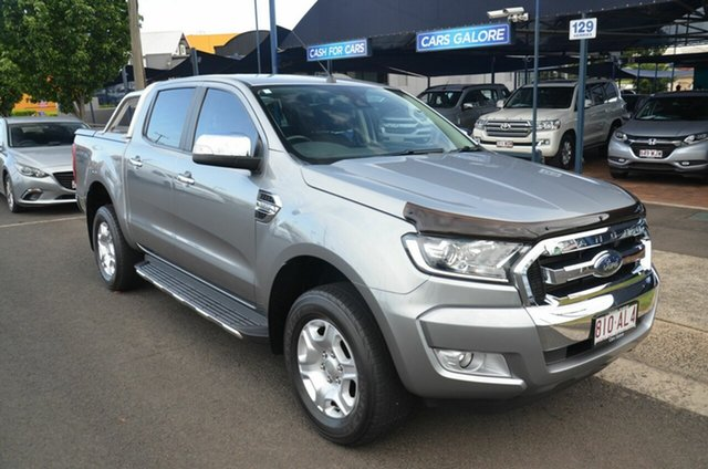 Used Ford Ranger PX MkII XLT 3.2 (4x4) Toowoomba, 2015 Ford Ranger PX MkII XLT 3.2 (4x4) Silver 6 Speed Automatic Double Cab Pick Up