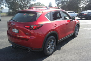 2017 Mazda CX-5 KF4WLA Touring SKYACTIV-Drive i-ACTIV AWD Red 6 Speed Sports Automatic Wagon