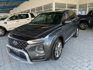 2018 Hyundai Santa Fe Highlander Grey Sports Automatic Wagon.