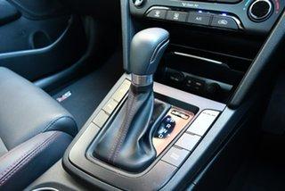 2018 Hyundai Elantra AD MY18 SR DCT Turbo Black 7 Speed Sports Automatic Dual Clutch Sedan