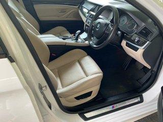 2011 BMW 5 Series F10 520d Steptronic White 8 Speed Sports Automatic Sedan