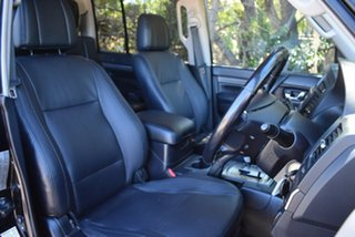 2007 Mitsubishi Pajero NS Exceed Black 5 Speed Sports Automatic Wagon