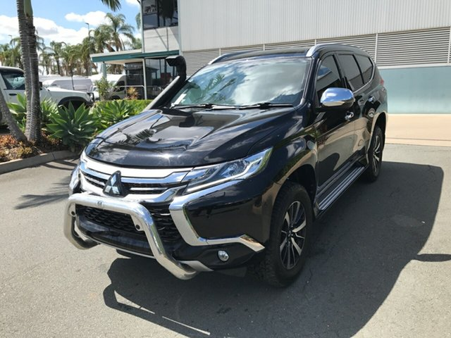 Used Mitsubishi Pajero Sport QE MY19 Exceed Acacia Ridge, 2018 Mitsubishi Pajero Sport QE MY19 Exceed Black 8 speed Automatic Wagon