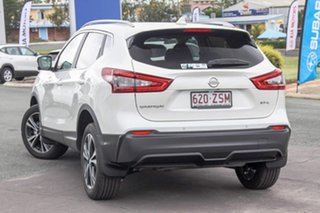 2019 Nissan Qashqai J11 Series 2 ST+ X-tronic Ivory Pearl 1 Speed Constant Variable Wagon.