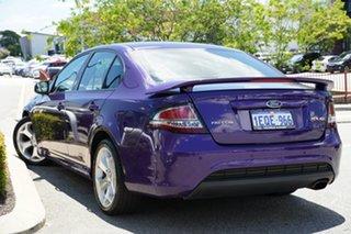 2011 Ford Falcon FG XR6 Turbo Purple 6 Speed Sports Automatic Sedan.