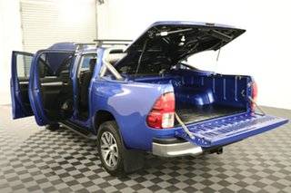 2016 Toyota Hilux GUN126R SR5 Double Cab Nebula Blue 6 speed Automatic Utility