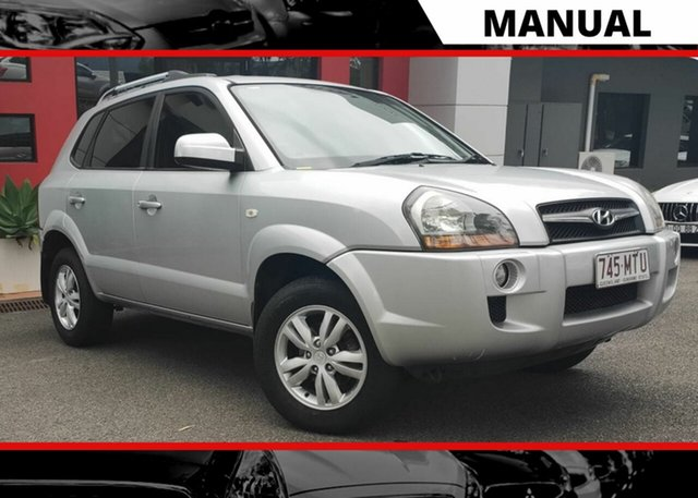 Used Hyundai Tucson JM MY09 City SX Ashmore, 2009 Hyundai Tucson JM MY09 City SX Silver 5 Speed Manual Wagon