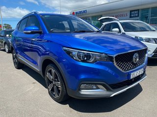 2018 MG ZS AZS1 Excite 2WD Blue 4 Speed Automatic Wagon.
