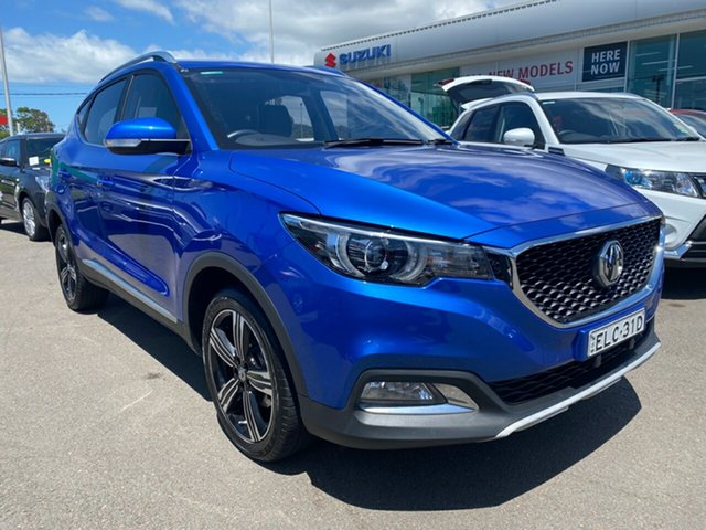 Used MG ZS AZS1 Excite 2WD Cardiff, 2018 MG ZS AZS1 Excite 2WD Blue 4 Speed Automatic Wagon