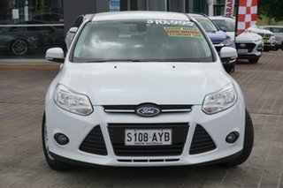 2013 Ford Focus LW MkII Trend White 5 Speed Manual Hatchback.
