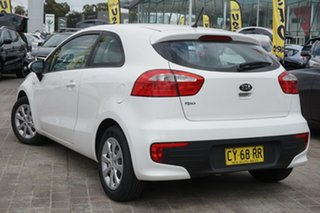 2016 Kia Rio UB MY16 S White 6 Speed Manual Hatchback