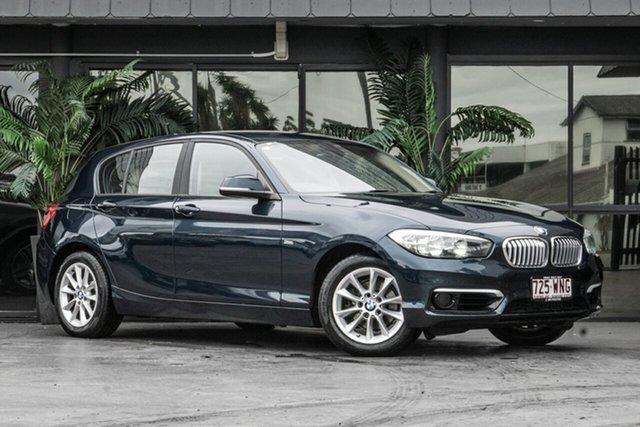 Used BMW 1 Series F20 LCI 118d Steptronic Urban Line Bowen Hills, 2016 BMW 1 Series F20 LCI 118d Steptronic Urban Line Blue 8 Speed Sports Automatic Hatchback