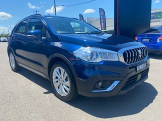 2017 Suzuki S-Cross JY Turbo Blue 6 Speed Sports Automatic Hatchback.
