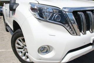 2016 Toyota Landcruiser Prado GDJ150R MY16 Kakadu (4x4) Crystal Pearl 6 Speed Automatic Wagon.