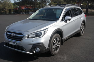 2018 Subaru Outback B6A MY18 2.5i CVT AWD Premium Silver 7 Speed Constant Variable Wagon.