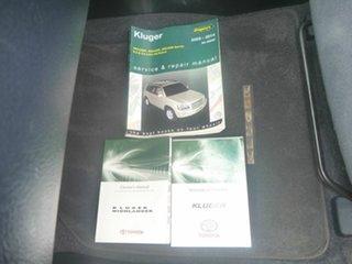 2012 Toyota Kluger GSU45R MY12 KX-R AWD Grey 5 Speed Sports Automatic Wagon.