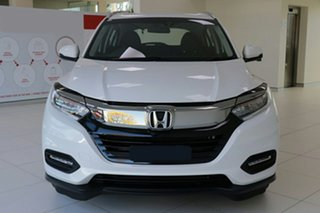 2020 Honda HR-V MY21 VTi-S Platinum White 1 Speed Constant Variable Hatchback