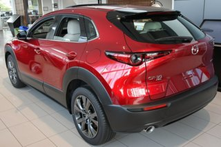 2020 Mazda CX-30 DM4WLA X20 SKYACTIV-Drive i-ACTIV AWD Astina Soul Red Crystal 6 Speed.