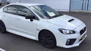 2014 Subaru WRX V1 MY15 AWD White 6 Speed Manual Sedan.