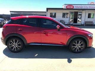 2016 Mazda CX-3 DK2W7A Akari SKYACTIV-Drive Soul Red 6 Speed Sports Automatic Wagon.