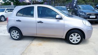 2012 Nissan Micra K13 MY13 ST Purple 4 Speed Automatic Hatchback