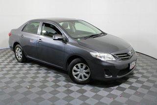2012 Toyota Corolla ZRE152R MY11 Ascent Grey 6 Speed Manual Sedan.
