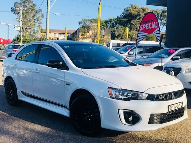 Used Mitsubishi Lancer CF MY17 Black Edition Liverpool, 2017 Mitsubishi Lancer CF MY17 Black Edition Starlight 6 Speed Constant Variable Sedan
