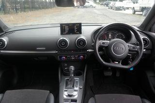 2016 Audi A3 8V MY16 Ambition S Tronic Black 7 Speed Sports Automatic Dual Clutch Sedan