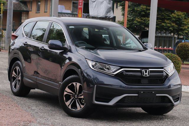New Honda CR-V MY21 VTi (2WD) 5 Seats Indooroopilly, 2021 Honda CR-V MY21 VTi (2WD) 5 Seats Cosmic Blue Automatic Wagon