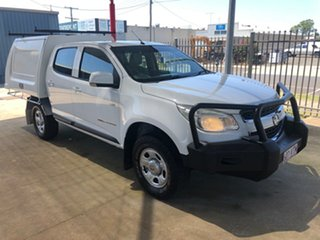 2013 Holden Colorado RG LT (4x4) White 5 Speed Manual Crew Cab Pickup.