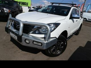 2016 Mazda BT-50 MY16 XTR (4x4) White 6 Speed Manual Dual Cab Utility.
