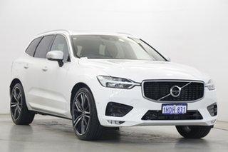 2017 Volvo XC60 UZ MY18 T6 AWD R-Design White 8 Speed Sports Automatic Wagon