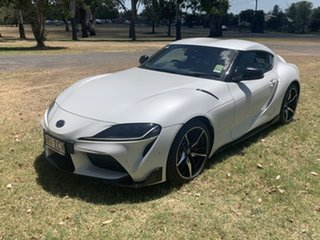 2019 Toyota Supra J29 GR GTS Crystal Pearl 8 Speed Sports Automatic Coupe.