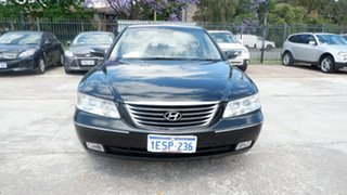 2009 Hyundai Grandeur TG MY09 Black 5 Speed Sports Automatic Sedan.