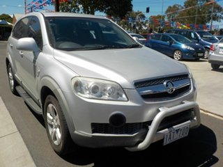 2010 Holden Captiva CG MY10 SX (4x4) Silver 5 Speed Automatic Wagon