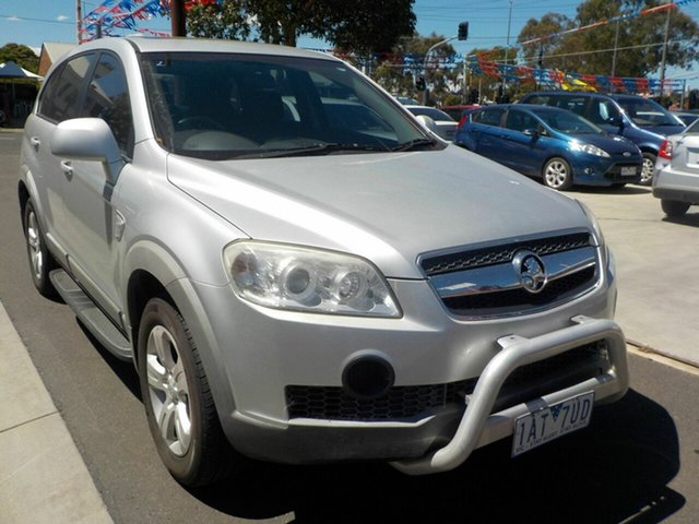 Used Holden Captiva CG MY10 SX (4x4) Newtown, 2010 Holden Captiva CG MY10 SX (4x4) Silver 5 Speed Automatic Wagon