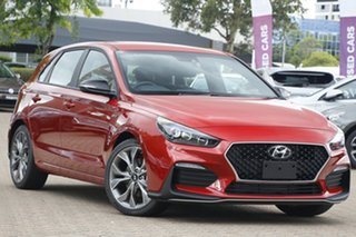 2021 Hyundai i30 PD.V4 MY21 N Line D-CT Lava Orange 7 Speed Sports Automatic Dual Clutch Hatchback.