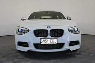 2015 BMW 1 Series F20 MY0714 M135i White 8 Speed Sports Automatic Hatchback.