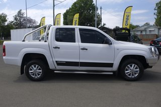 2015 Volkswagen Amarok 2H MY15 TDI400 4Mot White 6 Speed Manual Utility.