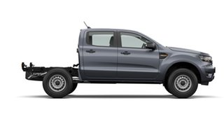 2021 Ford Ranger PX MkIII 2021.25MY XL Meteor Grey 6 Speed Sports Automatic Double Cab Chassis