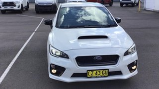 2014 Subaru WRX V1 MY15 AWD White 6 Speed Manual Sedan