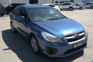 2013 Subaru Impreza G4 MY14 2.0i Lineartronic AWD Blue 6 Speed Constant Variable Sedan.