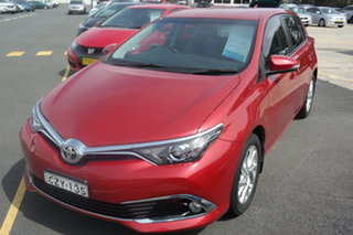 2015 Toyota Corolla ZRE182R Ascent Red 6 Speed Manual Hatchback.