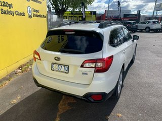 2015 Subaru Outback B6A MY16 2.0D CVT AWD White 7 Speed Constant Variable Wagon