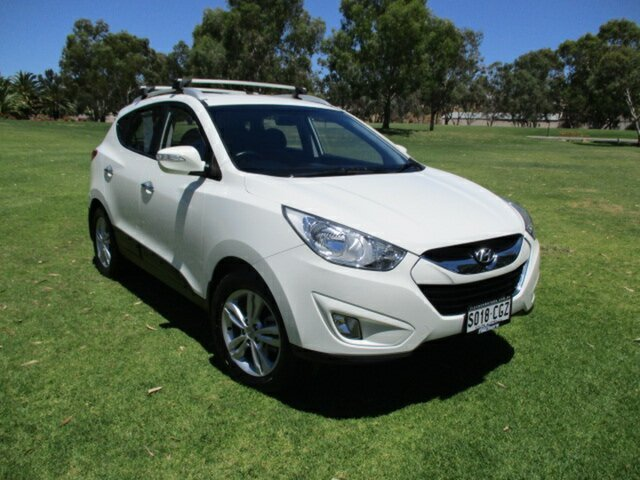 Used Hyundai ix35 LM MY12 Elite AWD Murray Bridge, 2012 Hyundai ix35 LM MY12 Elite AWD White 6 Speed Sports Automatic Wagon