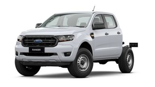 2020 Ford Ranger PX MkIII 2021.25MY XL Arctic White 6 Speed Sports Automatic Double Cab Chassis