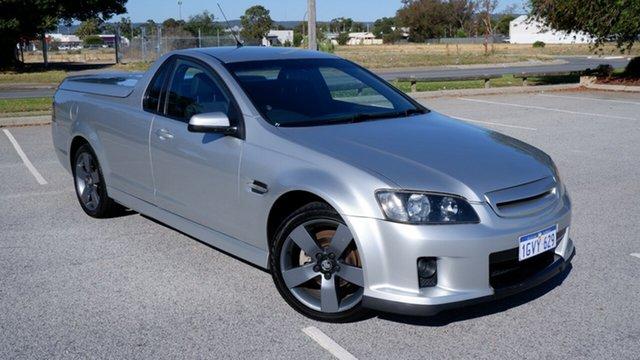 Used Holden Ute VE MY09.5 SV6 Maddington, 2009 Holden Ute VE MY09.5 SV6 Silver 6 Speed Manual Utility