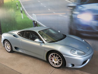 2000 Ferrari 360 Modena Blue 6 Speed Manual F1 Shift Coupe.