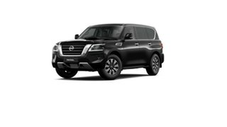 2020 Nissan Patrol Y62 Series 5 MY20 TI Black Obsidian 7 Speed Sports Automatic Wagon